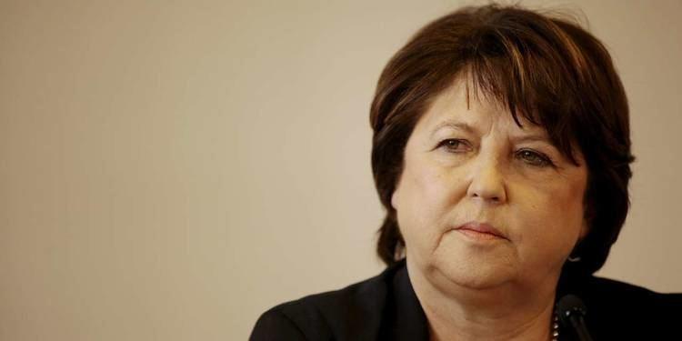 Martine Aubry Martine Aubry est trs nerve par la nomination de Manuel