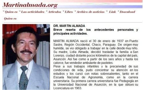 Martin Almada Martn Almada absuelto en un juicio por difamacin y