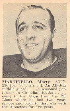 Marty Martinello cflapediacomPlayersmmartinellomarty3jpg