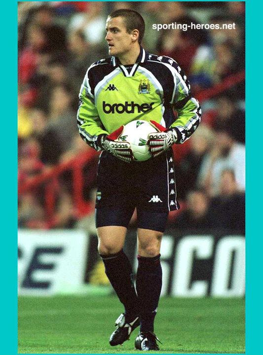 Martyn Margetson Martyn MARGETSON League Appearances Manchester City FC