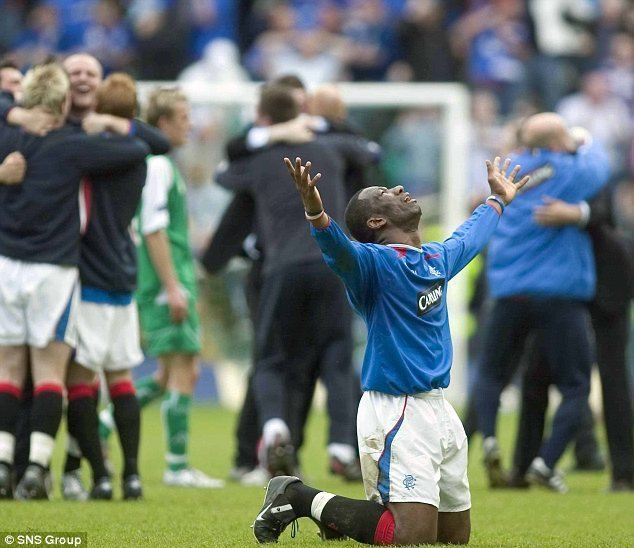 Marvin Andrews Andrews is a cult hero with Rangers and Raith and he just cant