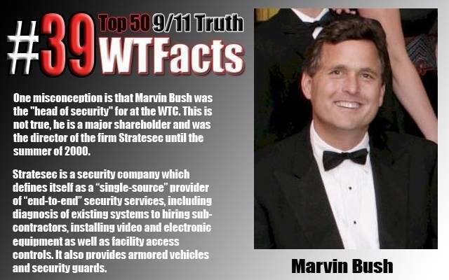 Marvin Bush 911Truth WTFact 39 Stratesec Marvin Bush and quotAccess