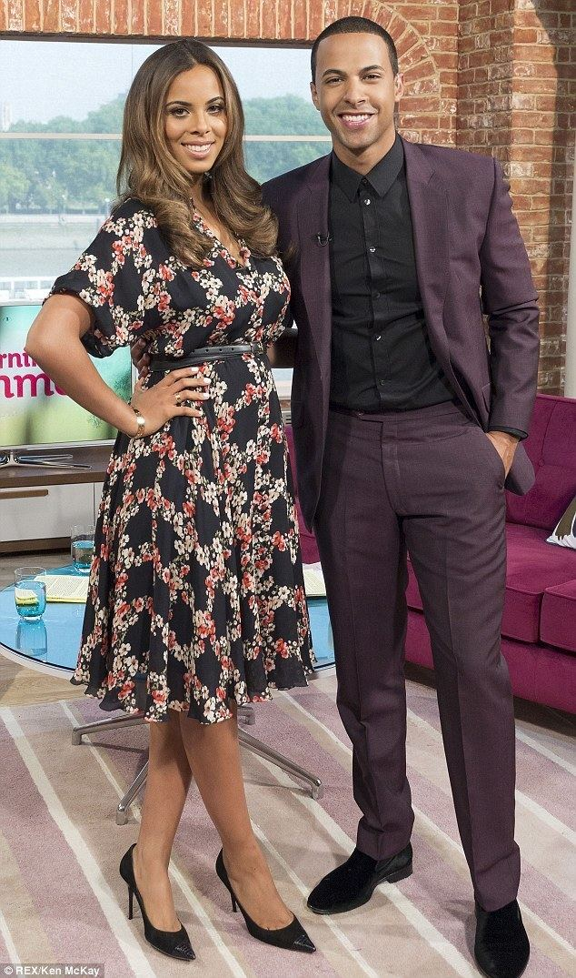 Marvin Humes Rochelle and Marvin Humes are a hit with viewers as they make their