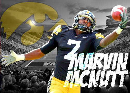 Marvin McNutt Marvin McNutt Scouting Report WR Iowa Hawkeyes NFL
