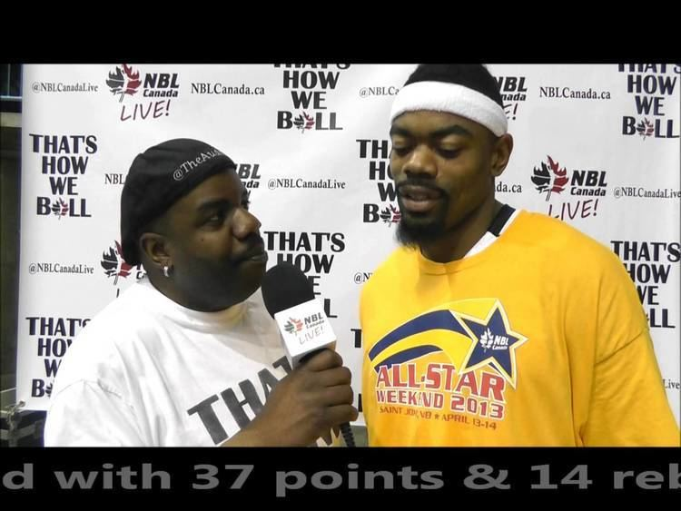 Marvin Phillips NBL Canada 2013 All Star Marvin Phillips YouTube
