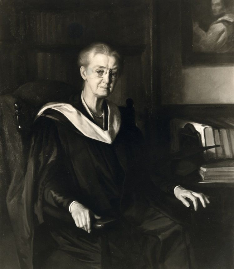 Mary Adelaide Nutting Portrait of Mary Adelaide Nutting 18581948 Teachers
