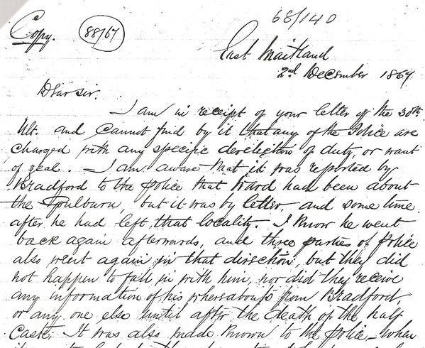 Mary Ann Bugg Mary Ann Bugg39s claimed death in 1867 Bushranger