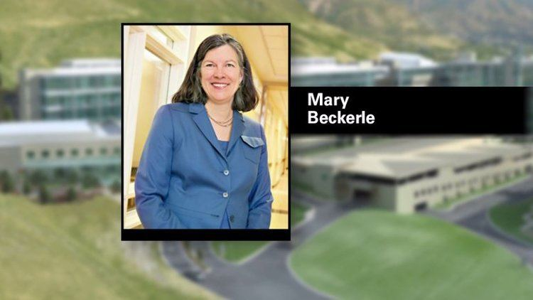 Mary Beckerle Former CEO of Huntsman Cancer Institute Dr Beckerle reinstated
