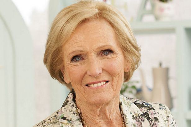 Mary Berry Great British Bake Off judge Mary Berry tells of working