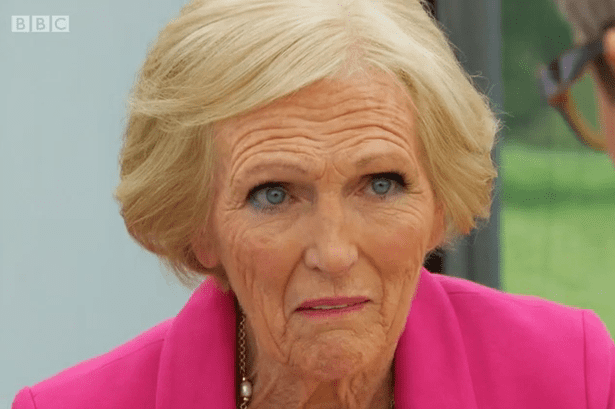 Mary Berry Great British Bake Off Mary Berry shocked by 39cannabis