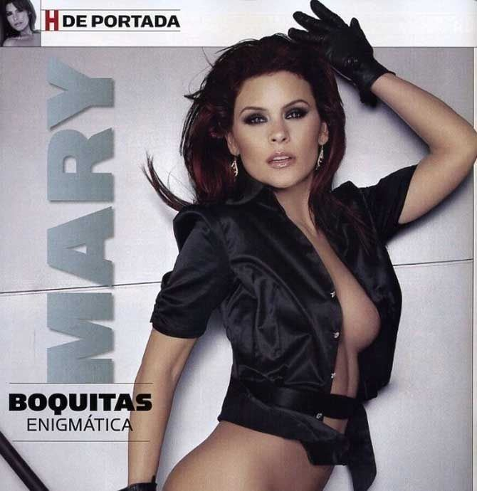 Mary Boquitas l es Sergio Andrade y ellas fueron sus mujeres EL