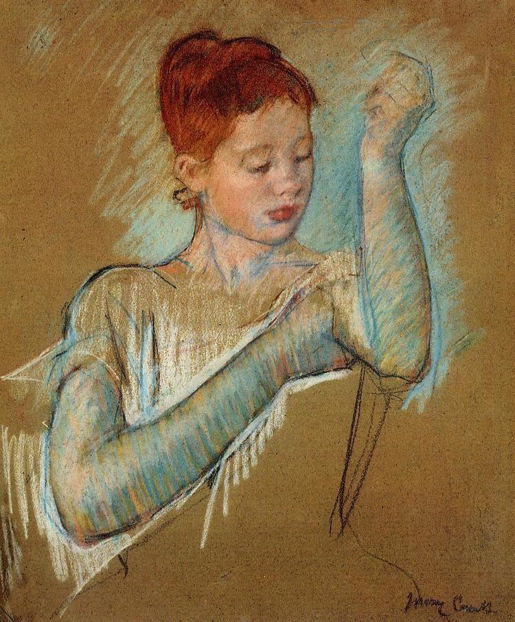 Mary Cassatt The Long Gloves Mary Cassatt WikiArtorg