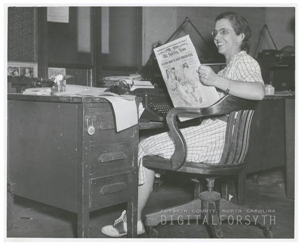 Mary Garber Digital Forsyth Mary Garber writer for the WinstonSalem Journal