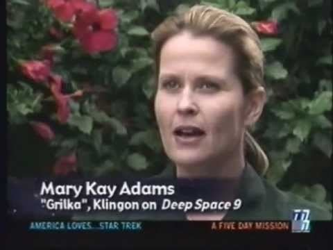 Mary Kay Adams Mary Kay Adams on America Loves Star Trek YouTube
