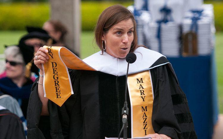 Mary Mazzio Mary Mazzio 3983 Citation and Speech Mount Holyoke College