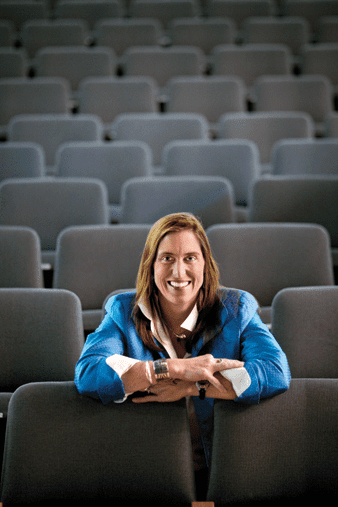 Mary Mazzio Small Talk with Mary Mazzio Babson Magazine Babson College