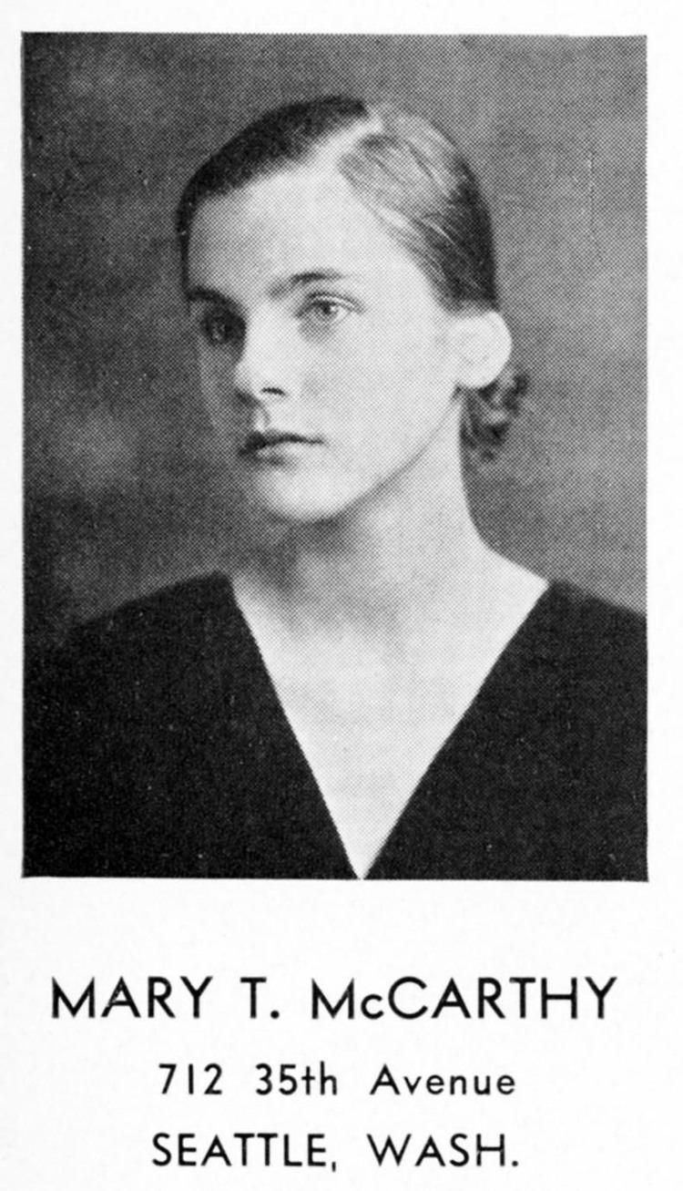 Mary McCarthy (author) Con Spirito Vassar College Encyclopedia Vassar College