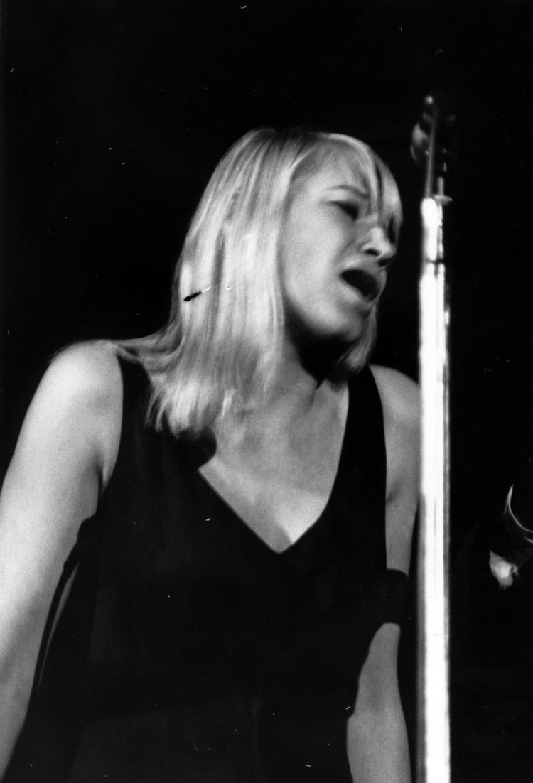 Mary Travers Mary Travers singing live on stage 0228376 NCSU