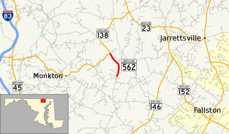 Maryland Route 562