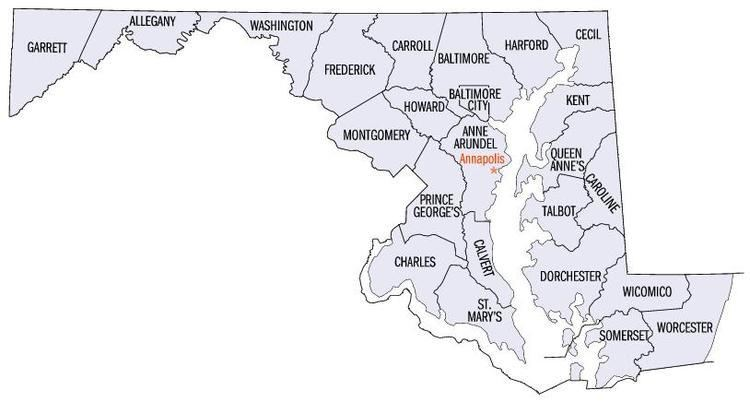 Maryland statistical areas