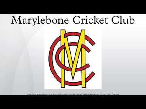 Marylebone Cricket Club Marylebone Cricket Club YouTube