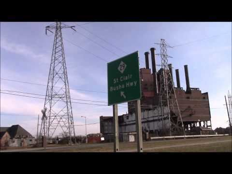 Marysville Power Plant DTE Energy Marysville Power Plant Dismantling 3152015 YouTube
