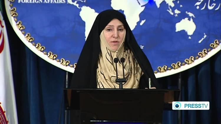 Marzieh Afkham Foreign Ministry Spokeswoman Marzieh Afkham weekly press