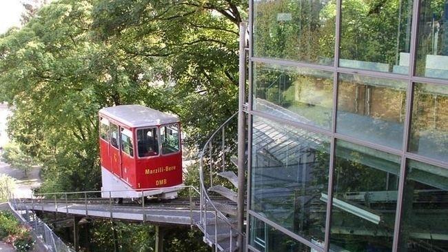 Marzilibahn funicular Marzilibahn a million and more passengers Switzerland Tourism