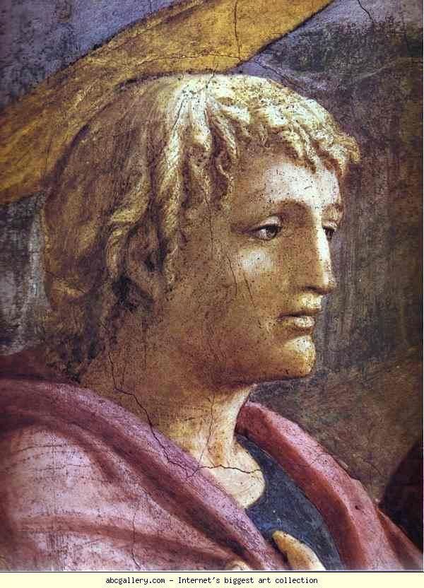 Masaccio Masaccio Rendering of the Tribute Money detail Olga39s