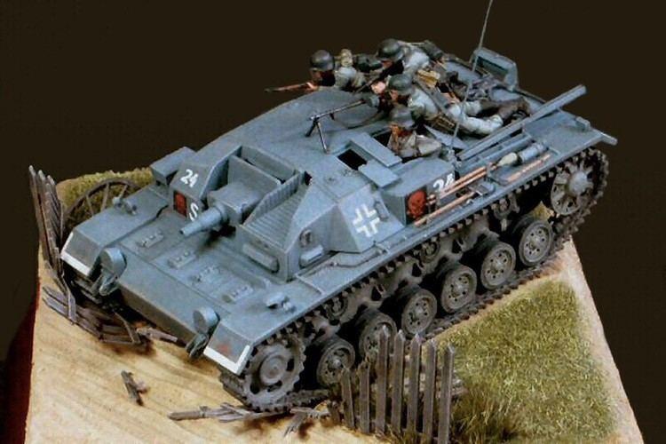 Masahiro Doi SdKfz142 Sturmgeschtz III AusfB by Masahiro Doi