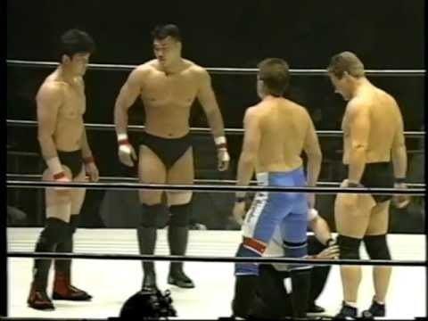 Masahito Kakihara Gene Lydick amp Steve nelson vs Kazushi Sakuraba amp Masahito