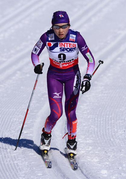Masako Ishida Masako Ishida Pictures Cross Country Women39s Mass Start