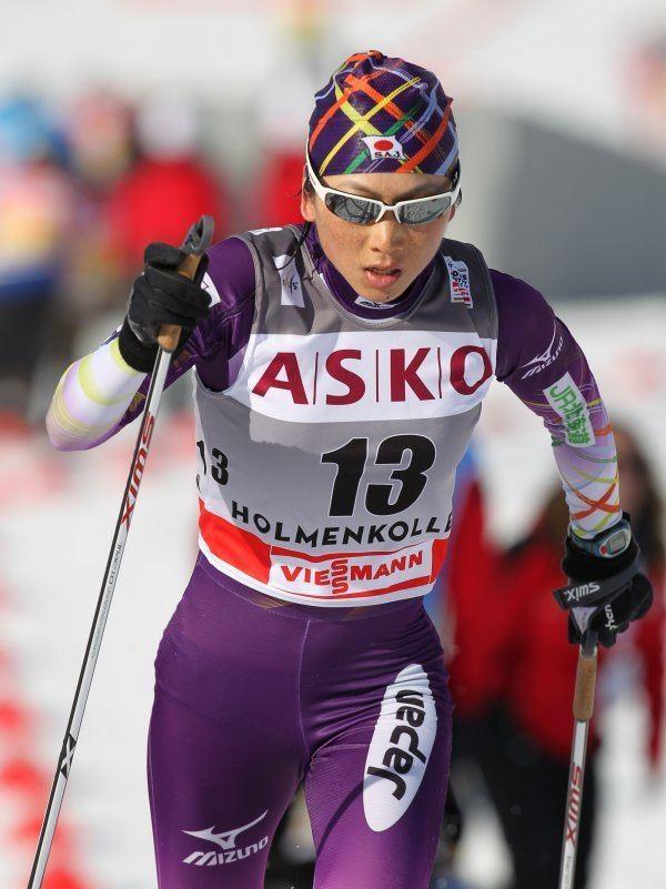 Masako Ishida Masako Ishida Langlauf Weltcup OsloHolmenkollen NOR