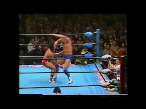 Masao Inoue Jun Akiyama vs Masao Inoue All Japan February 6th 1994 YouTube