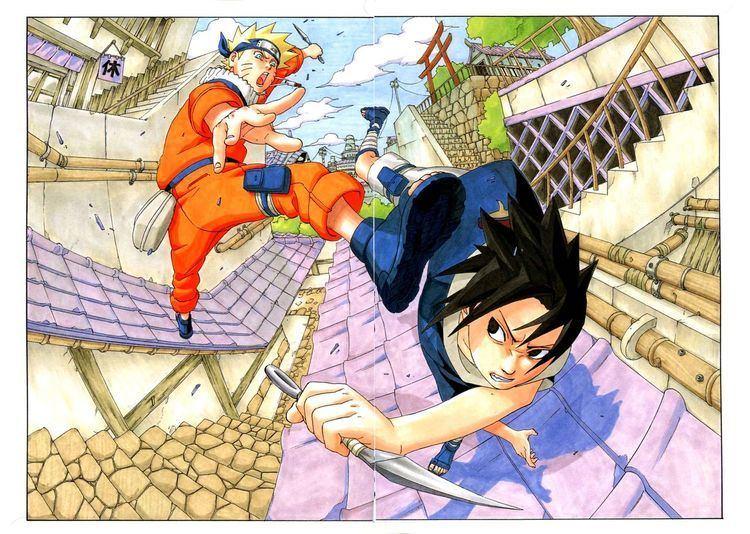Masashi Kishimoto 6 Great Naruto Images Show Masashi Kishimotos Artistic Abilities