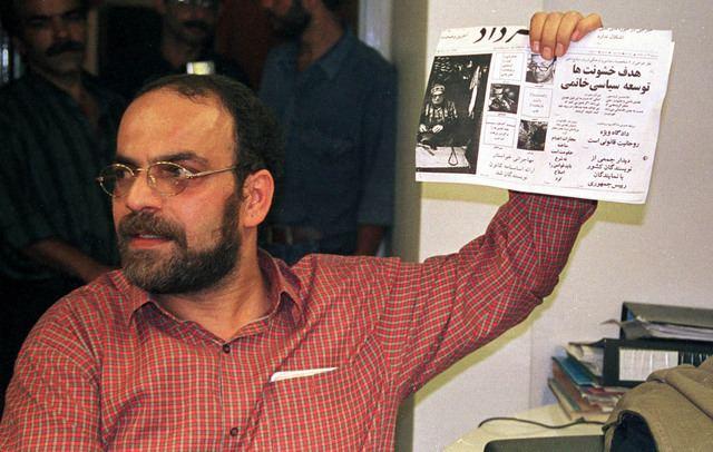 Mashallah Shamsolvaezin Journalist Mashallah Shamsolvaezin calls on Iran to release the 48