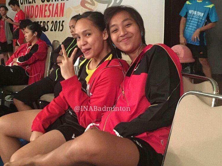 Masita Mahmudin BADMINTON INDONESIA on Twitter Masita Mahmudin dan Rosyita Eka