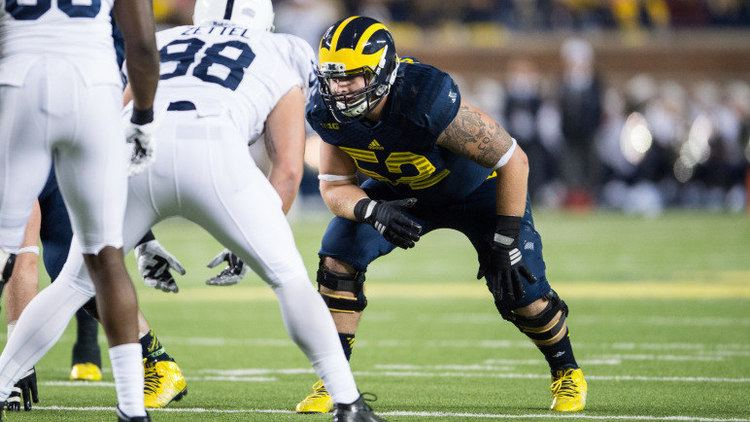 Mason Cole Michigan39s Freshman Offensive Tackle in Uncharted Waters