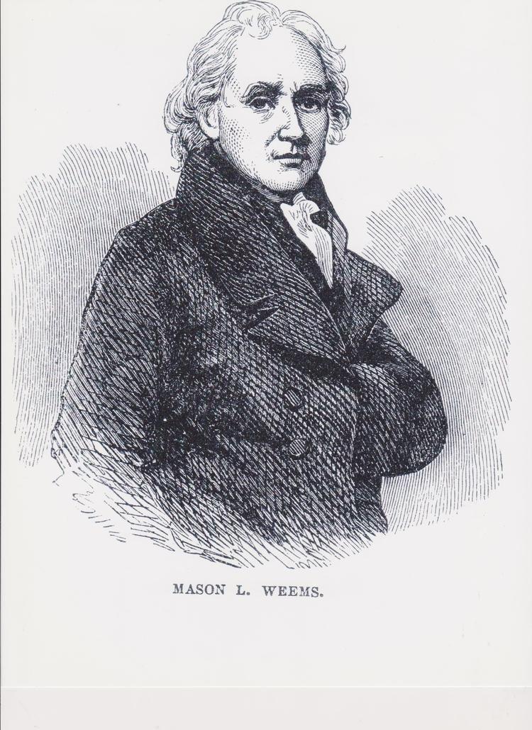 Mason Locke Weems Mason Locke quotParsonquot Weems Weems Collections