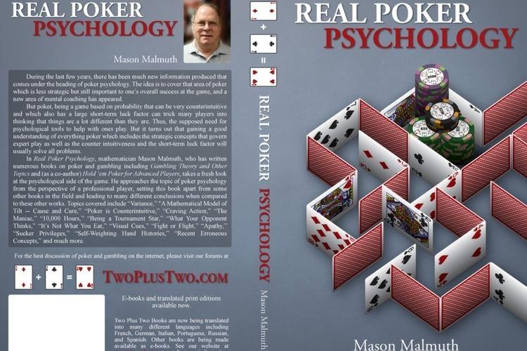 Mason Malmuth Mason Malmuth publishes his new book PokerGroundcom
