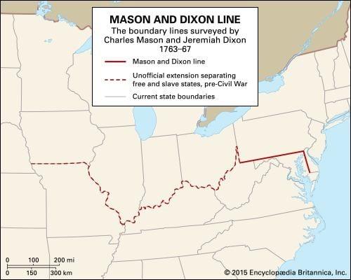 Mason–Dixon line - Alchetron, The Free Social Encyclopedia