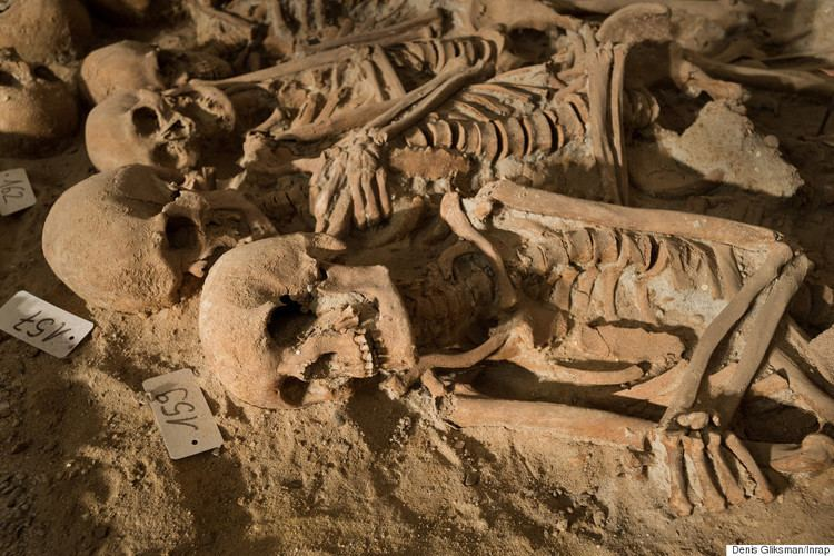 Mass grave Mass Grave With 200 Skeletons Found Under Supermarket In Central