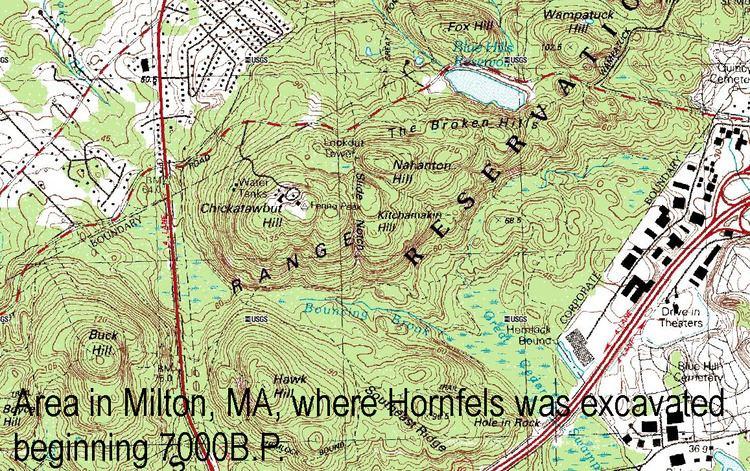 Massachusetts Hornfels-Braintree Slate Quarry