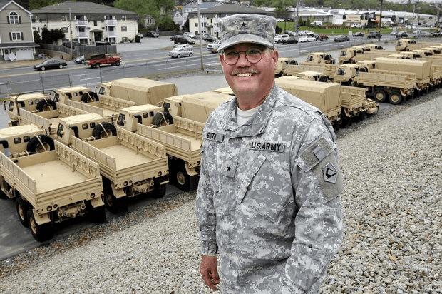 Massachusetts National Guard Massachusetts National Guard commander Paul G Smith of Ashburnham