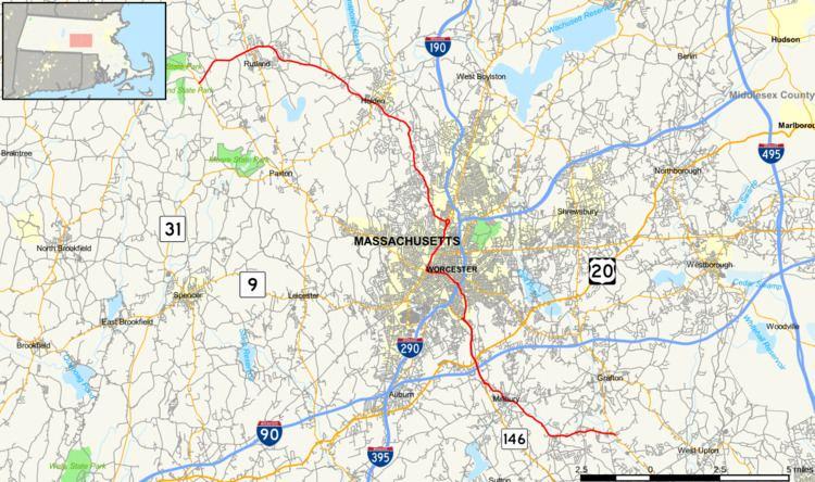 Massachusetts Route 122A