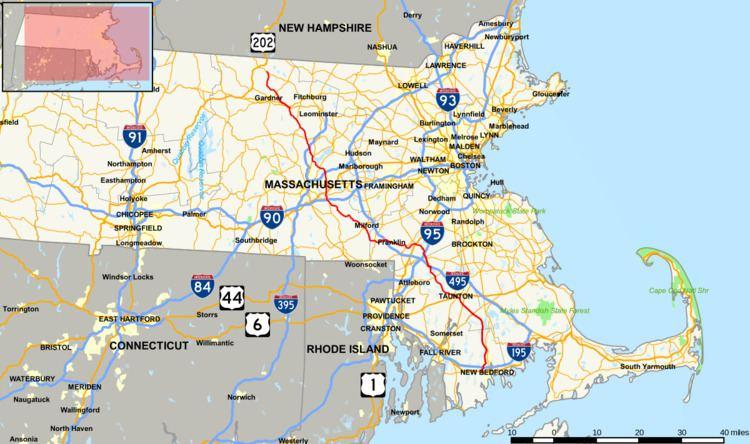 Massachusetts Route 140