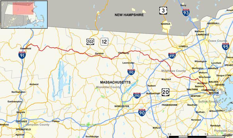 Massachusetts Route 2A