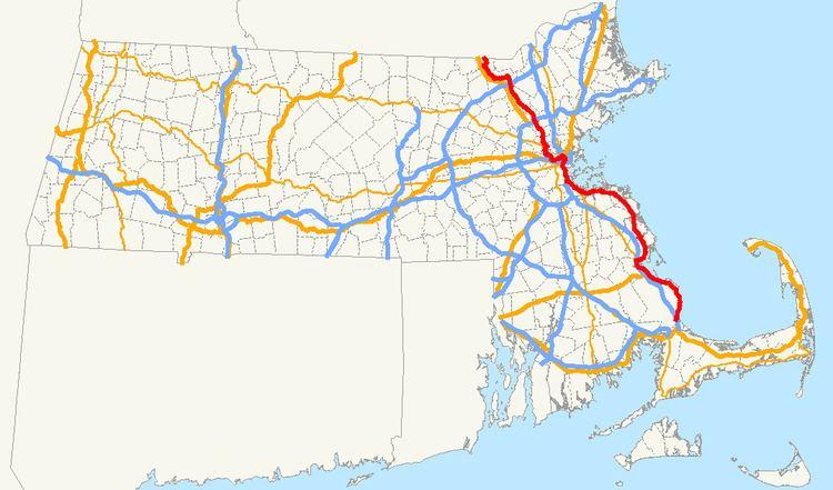 Massachusetts Route 3A
