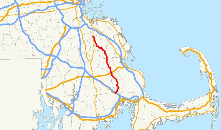 Massachusetts Route 58
