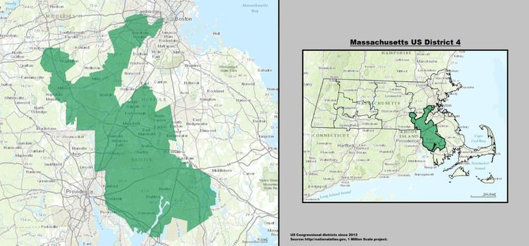Massachusetts's 4th congressional district